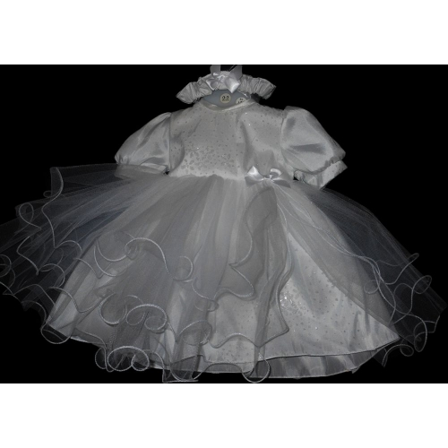Sparkle Christening Dress          m101