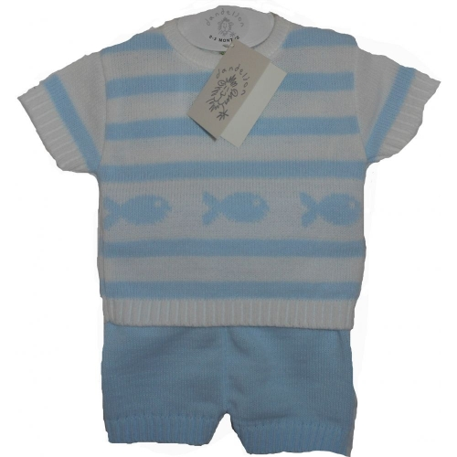 Blue Baby Outift                          A2351