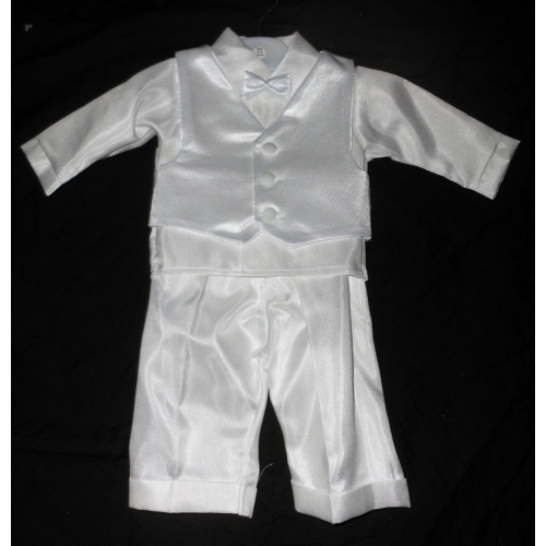 Boys Christening Bow Tie Suit